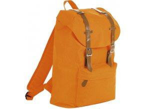 Oranžový batoh