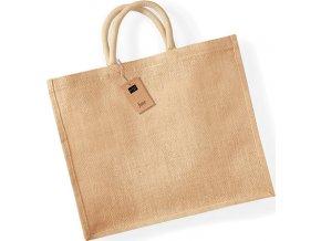 Velká nákupní jutová taška Westford Mill 29 l