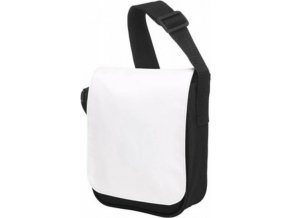 Malá taška přes rameno Halfar Bag base white black