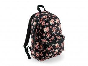 Batoh Bagbase s různými vzory faded floral
