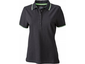 Dámské slim-fit polo tričko s krátkým rukávem Coldblack