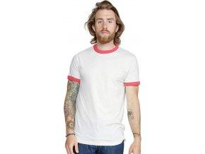 Pánské retro tričko Superstar s kontrastními lemy