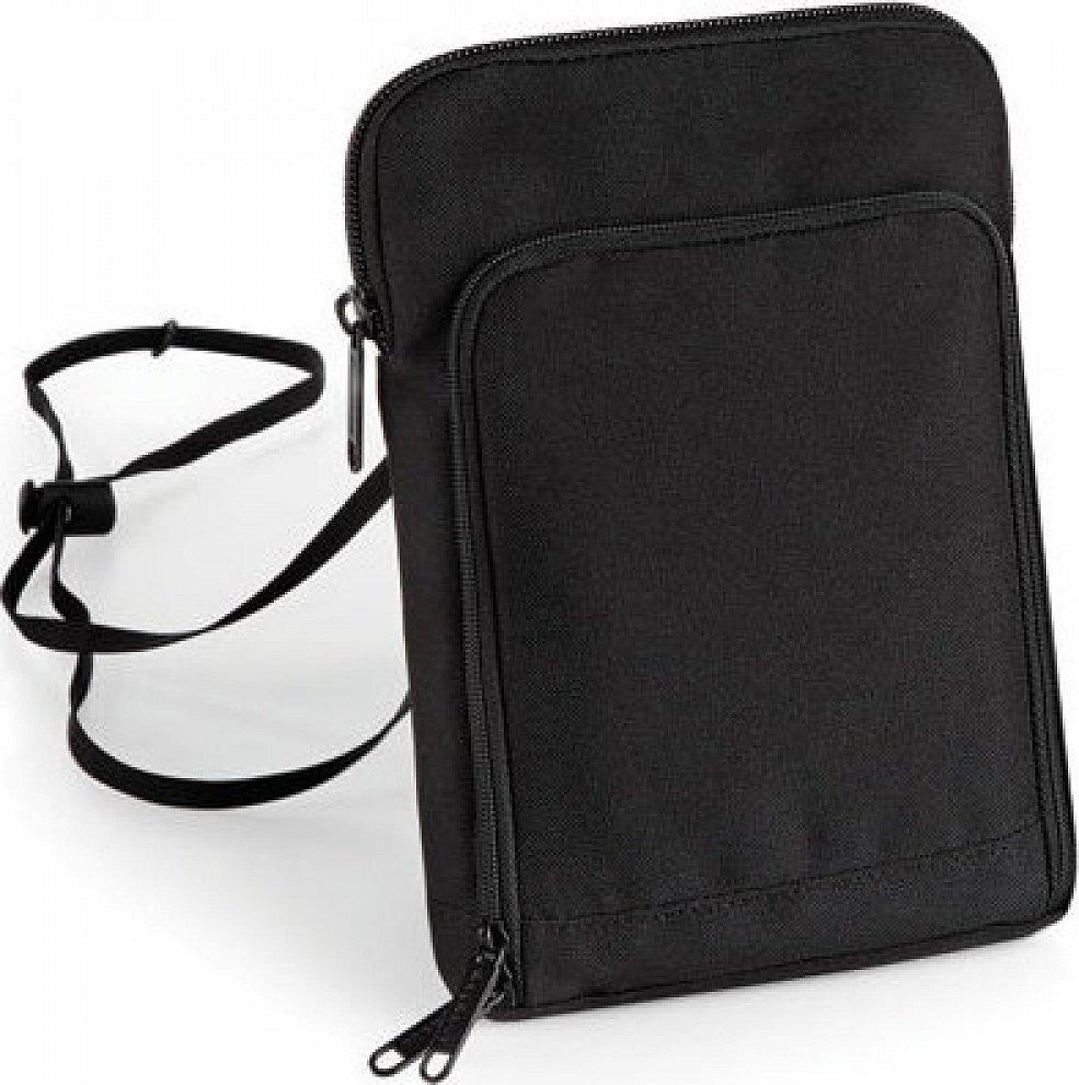 BagBase Cestovní taštička na krk velikost XL vhodná na Kindle