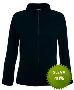 Micro fleecová bunda na zip Barva: Tmavě modrá, Velikost: XS