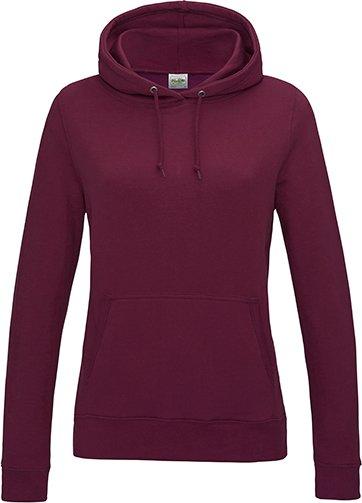 Dámská klokánka s kapucí Just Hoods Barva: Černá, Velikost: XL