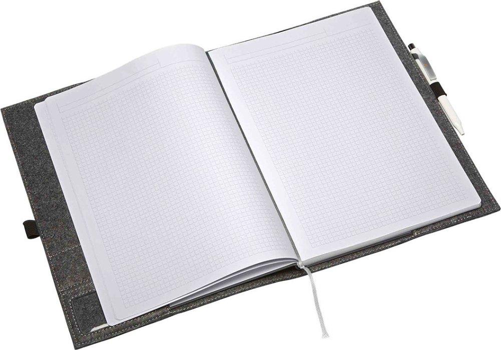 Halfar Kvalitní plstěný obal na notebook Eco 24 x 32 x 1 cm Barva  Modrá c8e7b1d879