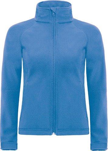 Dámská softshellová bunda s kapucí Barva: modrá námořní, Velikost: XS