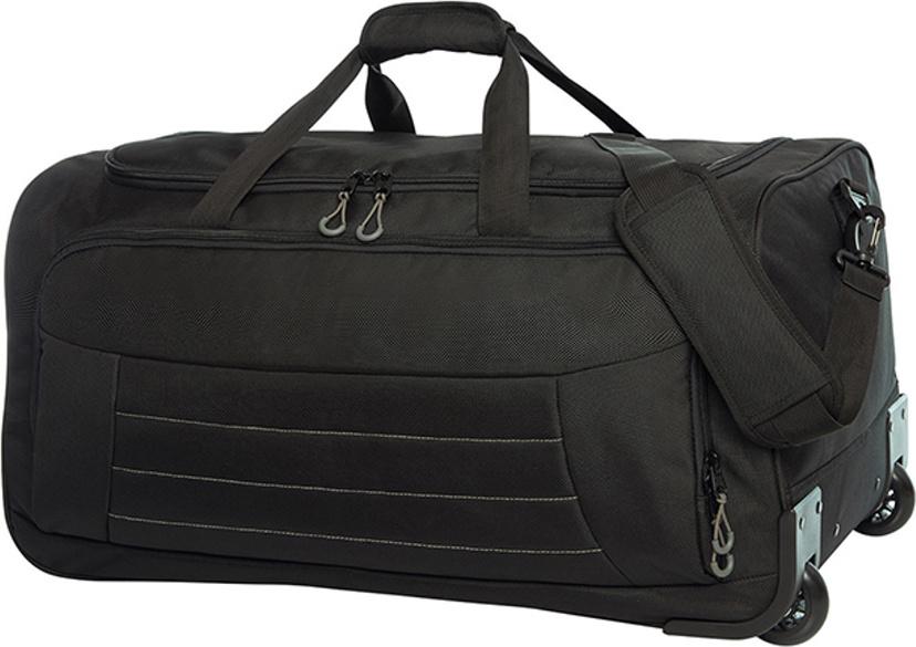 Halfar Cestovní taška Impulse na kolečkách s teleskopickým držadlem 75 l, 66 x 32 x 35 cm