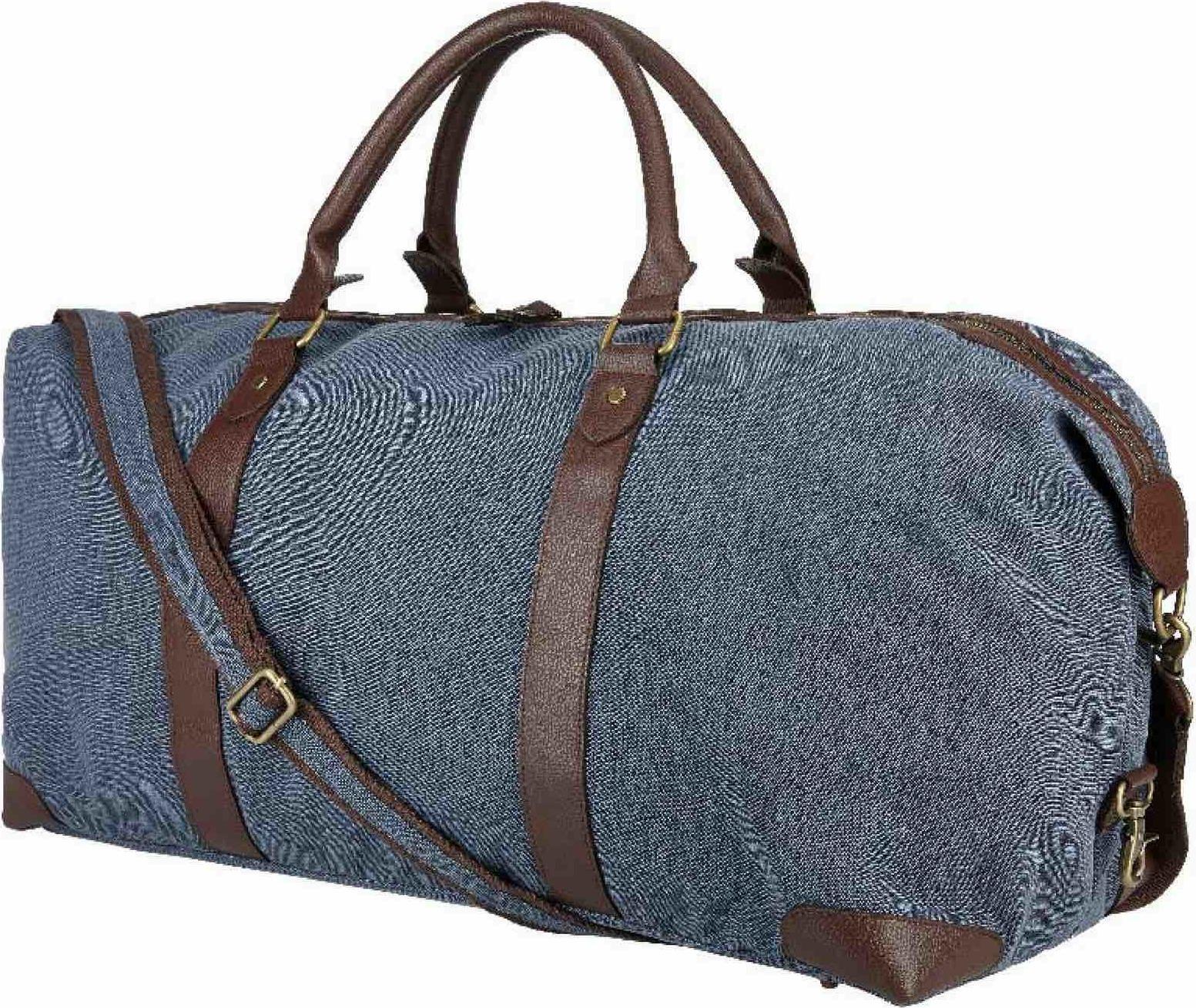 Bags2Go Pevná plátěná sportovní taška Liverpool 62 litrů
