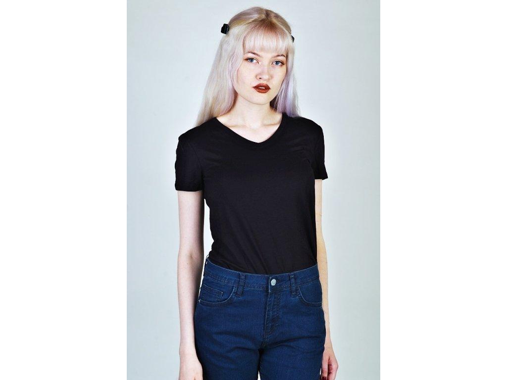 Tričko černé dámské