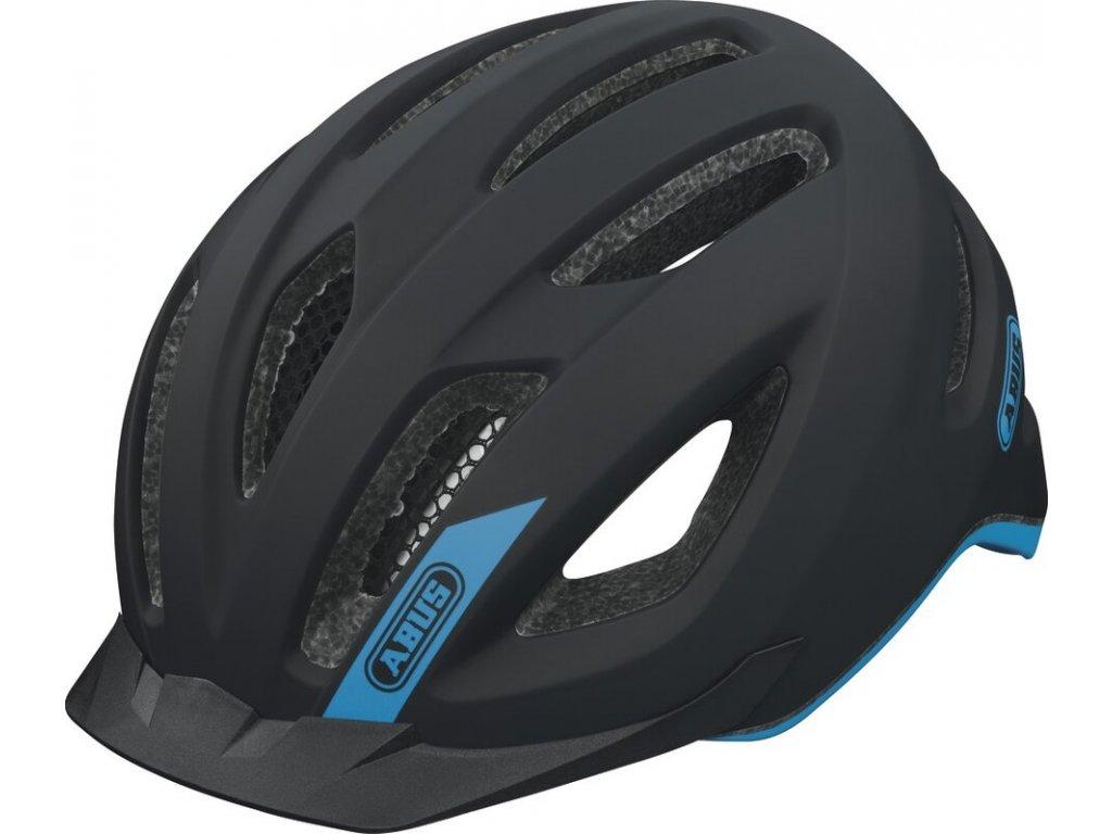 Cyklistická helma Abus Pedelec fashion blue M