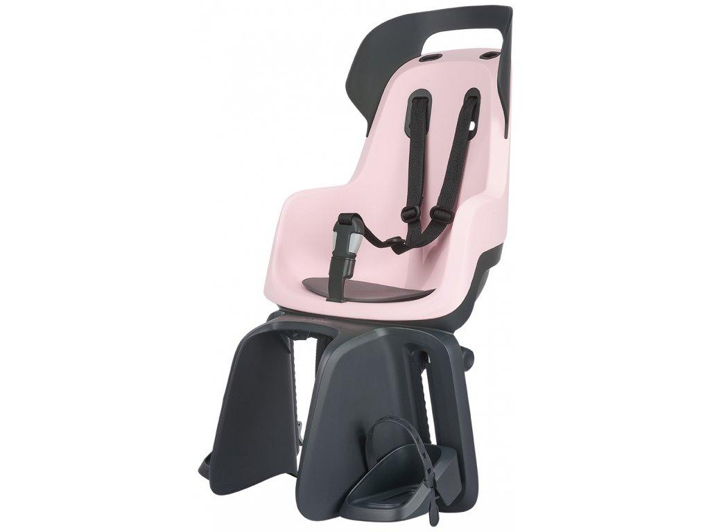 Dětská cyklosedačka Bobike GO - Candy Pink
