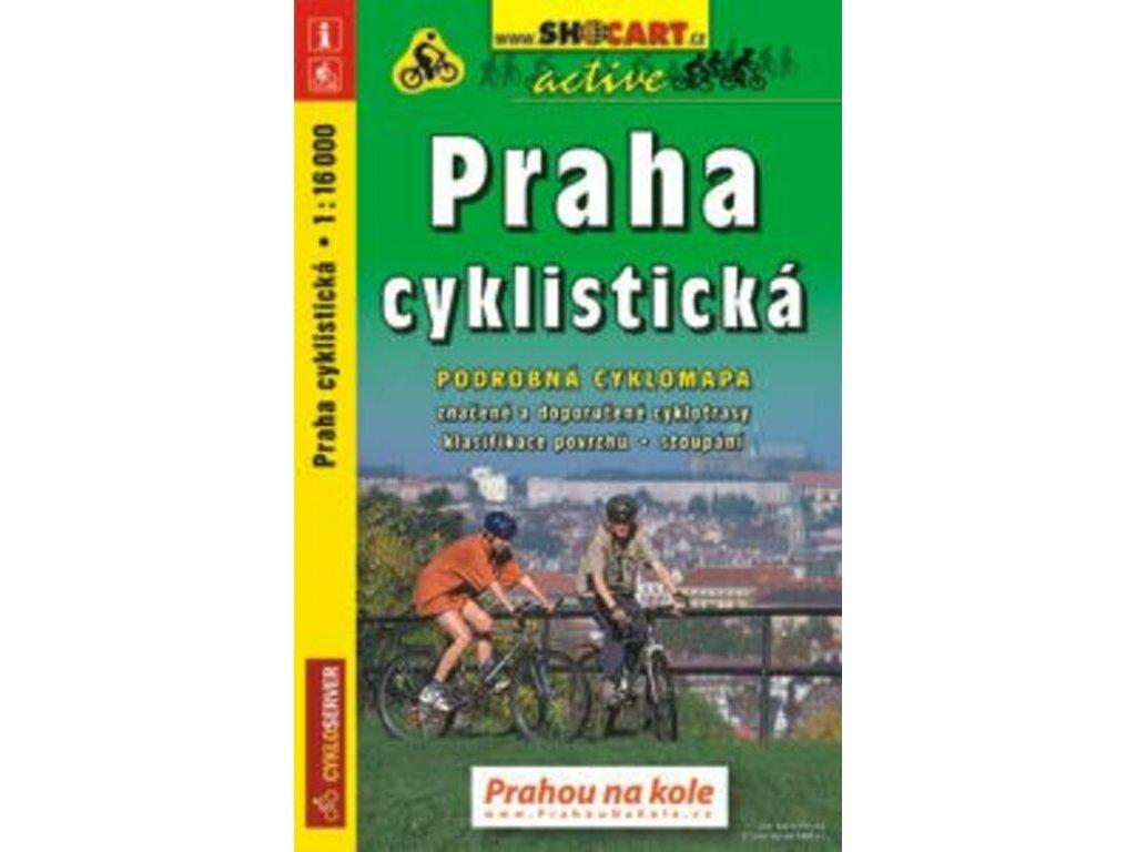 Mapa Praha cyklistická