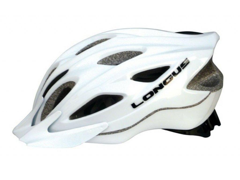 Helma na kolo Longus Lyra Plus bílá L/XL