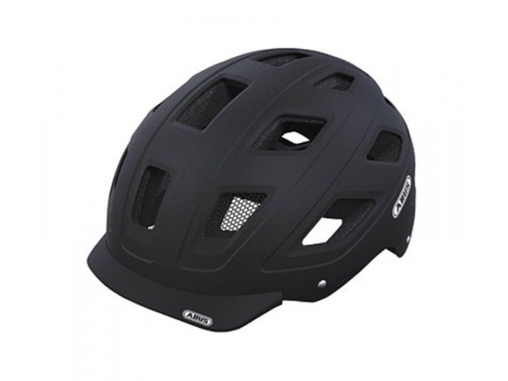 Cyklistická přilba Abus Hyban velvet black velikost M