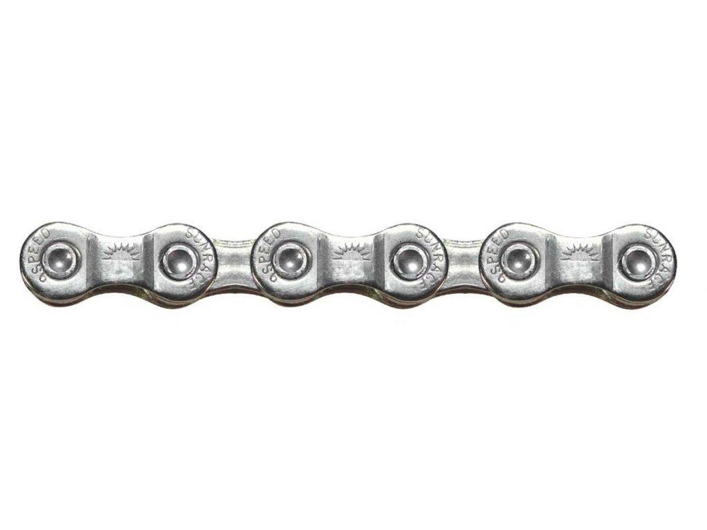 Řetěz na kolo Sunrace 9 speed Grey