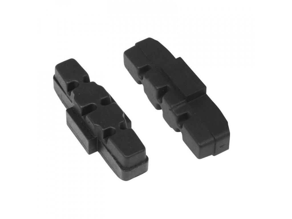 Brzdové špalky Force výměnné, Magura hydraulic, černé, 50 mm