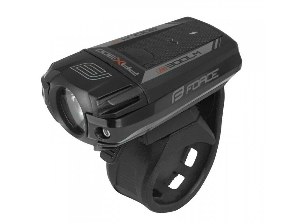 Přední světlo Force PAX 400LM, USB