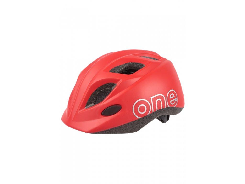 Dětská helma Bobike One Plus Strawberry Red XS