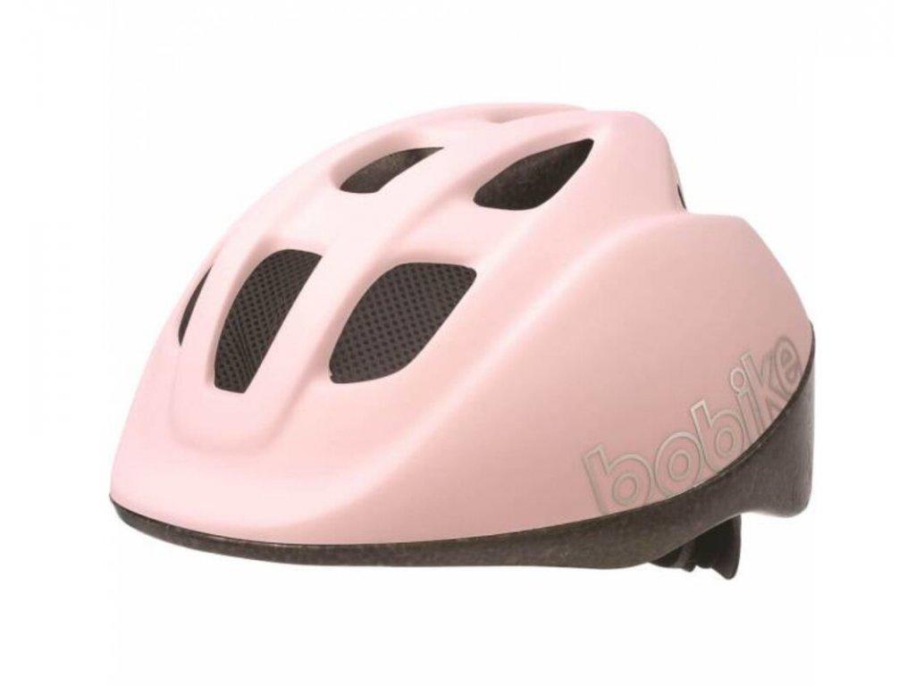 Dětská helma Bobike Go XS růžová