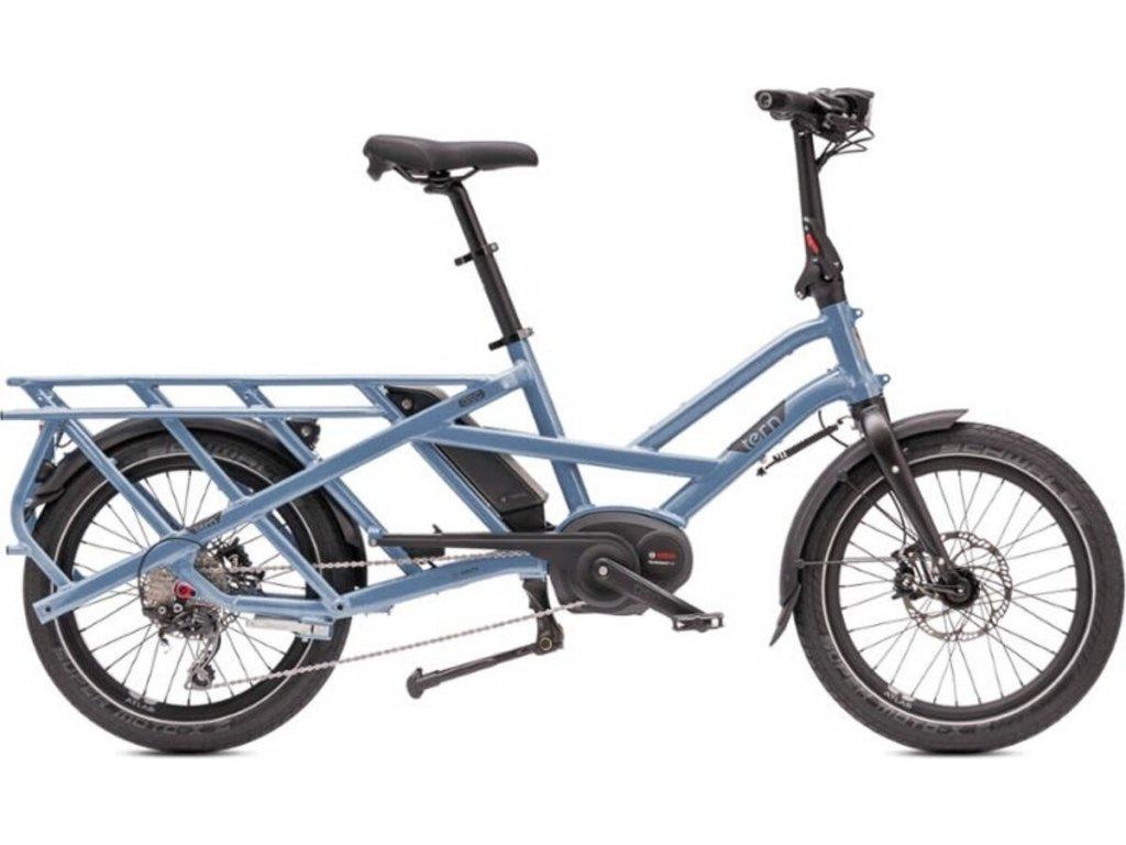 Nákladní elektrokolo Tern GSD S10 - Silver Blue 2019