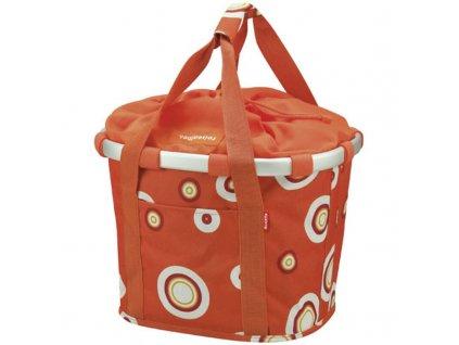 Taška na kolo Bubbles - oranžová