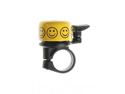 Zvonek na kolo Cink malý žlutý