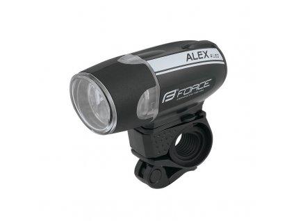 Přední světlo Force Alex 4 diody + baterie