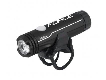 Přední světlo na kolo Force PEN 1 LED černé