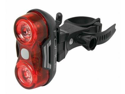 Zadní světlo na kolo blikačka Force Optic