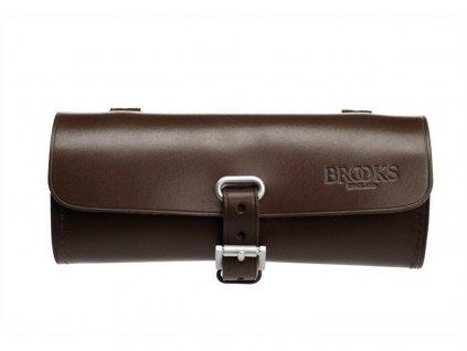 Kožená brašna pod sedlo Brooks Challenge Tool Bag hnědá