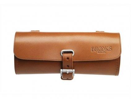 Kožená brašna pod sedlo Brooks Challenge Tool Bag medová