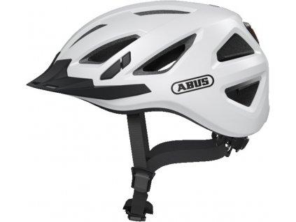 Cyklistická přilba Abus Urban-I 3.0 polar white velikost L