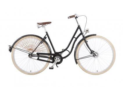 """Městské kolo v retro stylu Kolos No.1, 28"""", černé"""