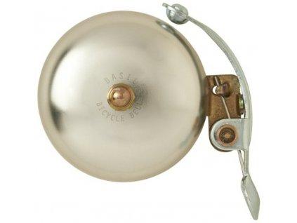 """Zvonek  na kolo BASIL """"Portland"""" - stříbro"""