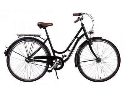 """Městské kolo v retro stylu Manchester 28"""" black"""