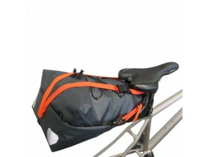 ORTLIEB Support Strap pro Seat-Pack - podpůrný popruh - oranžová