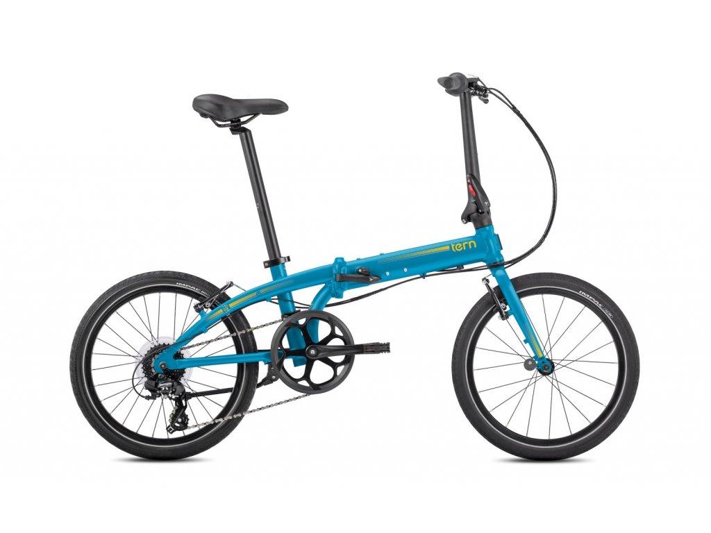 tern link c8 skladaci bicykel svetlo modry
