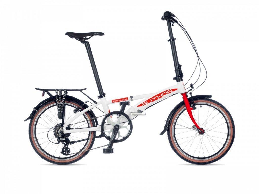skladaci bicykel author simplex bila