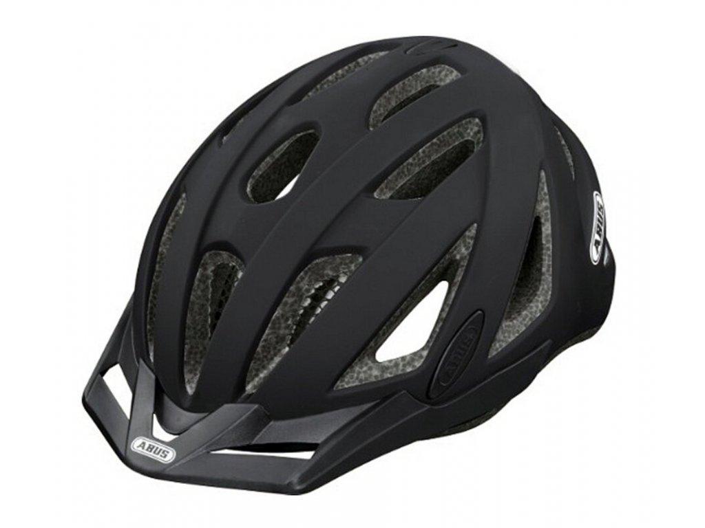 3513 cyklo prilba abus urban i velvet black velikost m