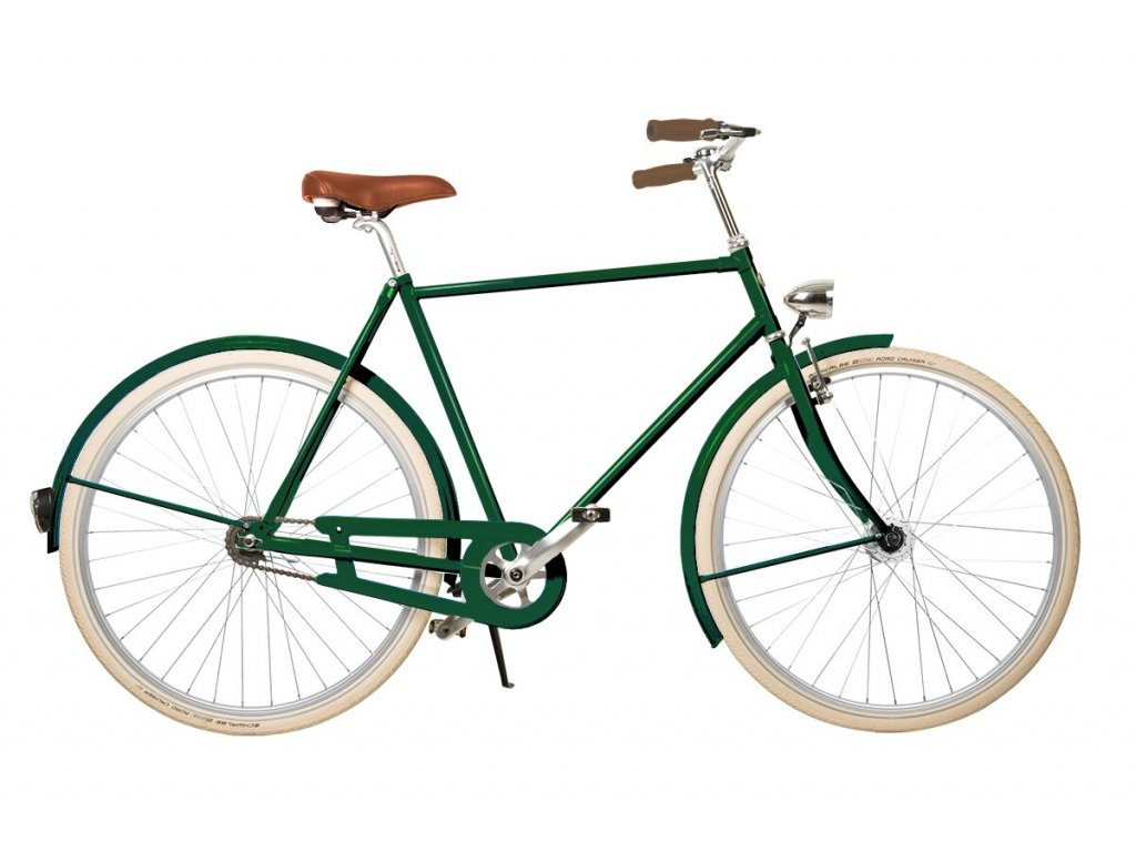 441 panske mestske retro kolo kolos no 2 zelene