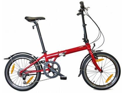 Skladací bicykel Dahon Speed D8 červená