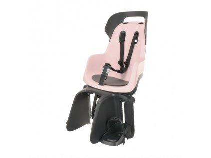 Dětská cyklosedačka Bobike GO - Candy Pink (Varianta Pro sedlovou trubku rámu)