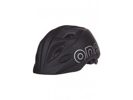 Detská prilba na bicykel Bobike One Plus Black XS