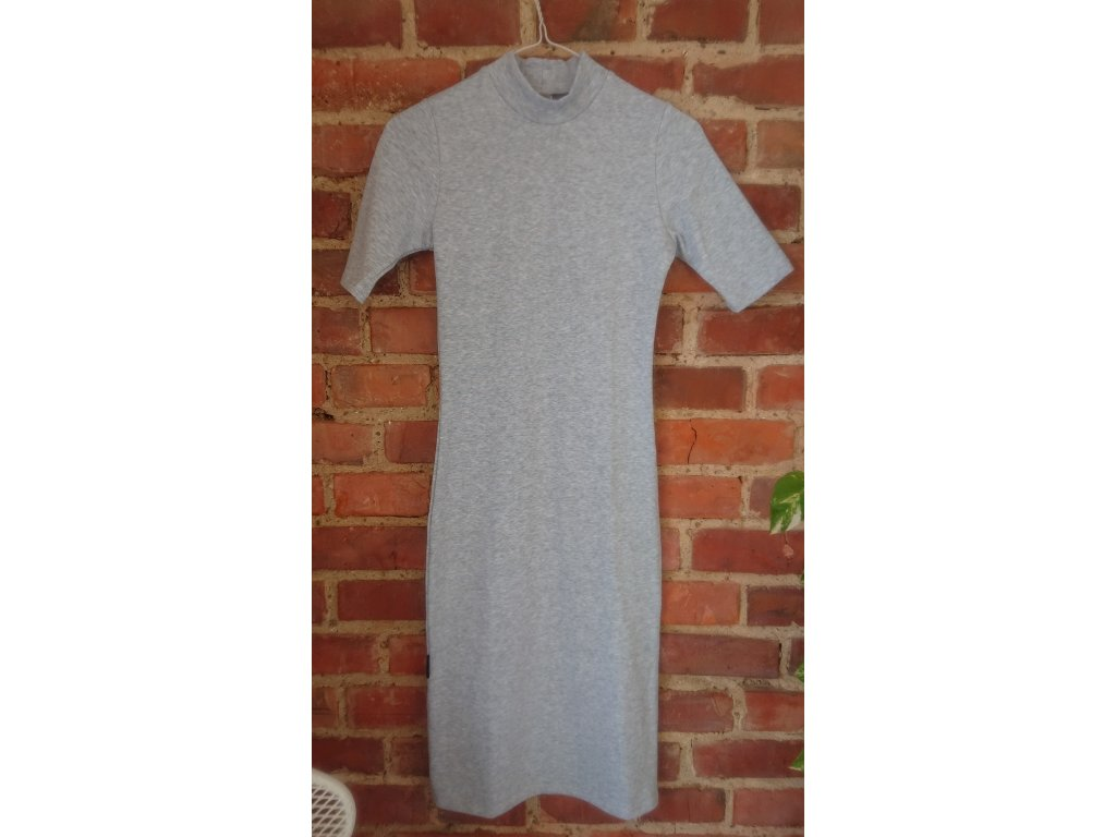 Šaty Silhouette 3/4 sleeve / Soft Grey
