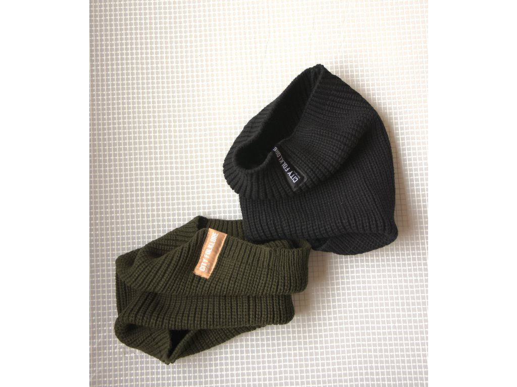 Tunel Knitted Black