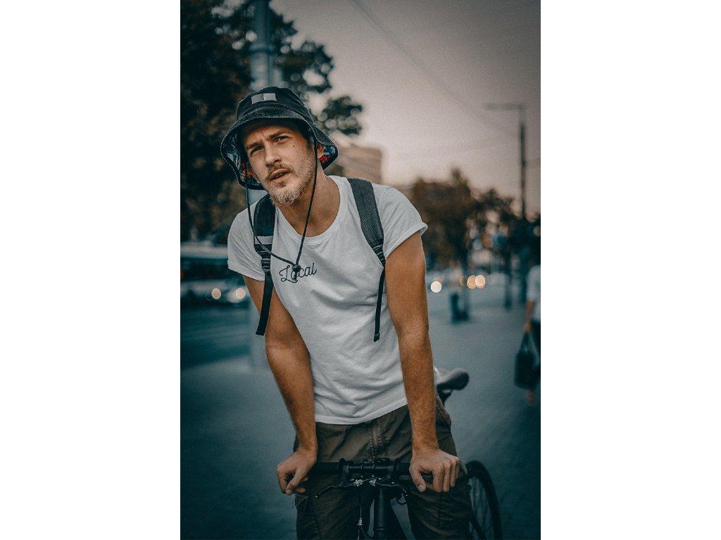 tee mockup of a serious bearded man riding a bike 39311 r el2