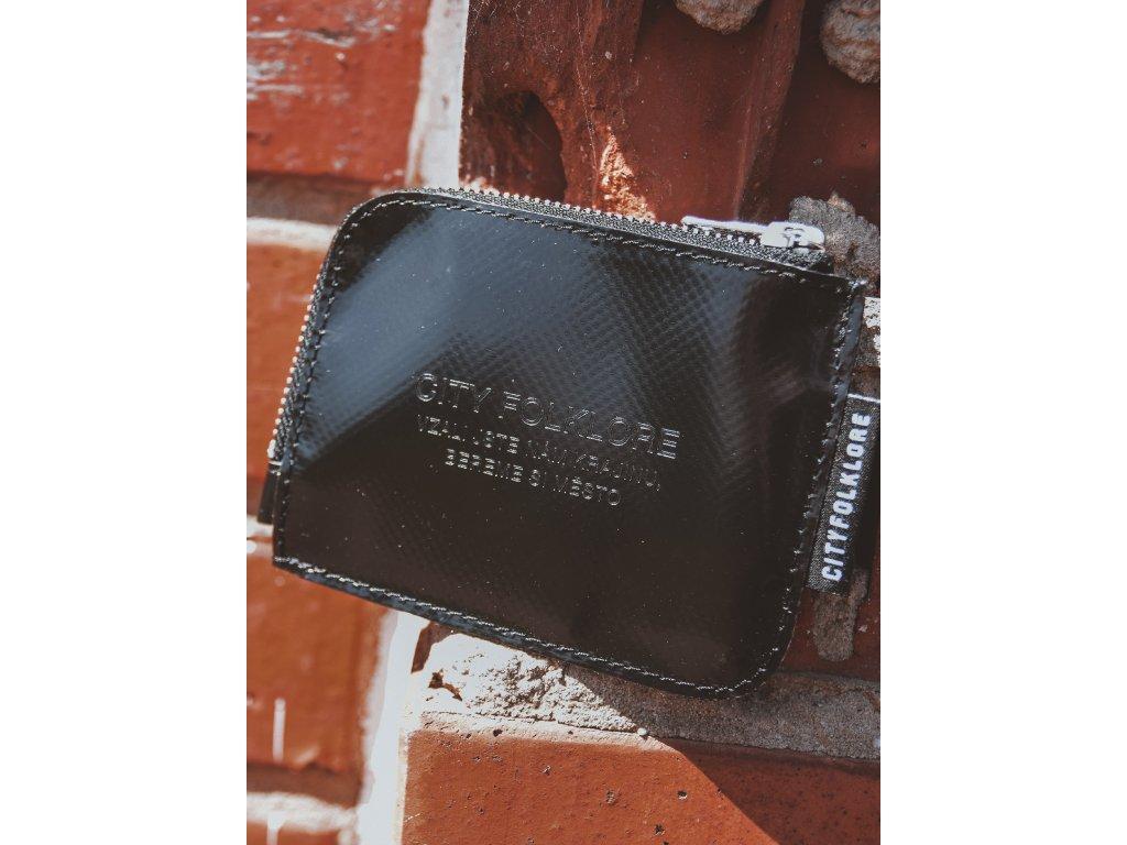 Peněženka malá PLBG / CF Černá lesk