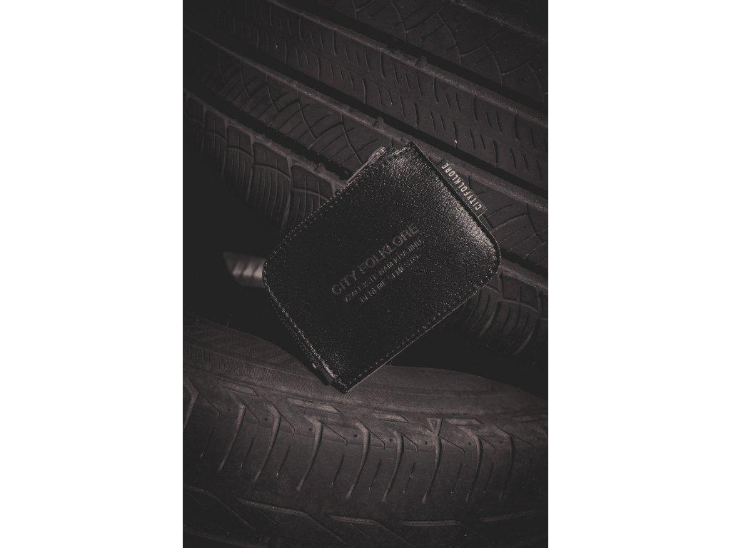 Peněženka malá PLBG / CF Černá koženka