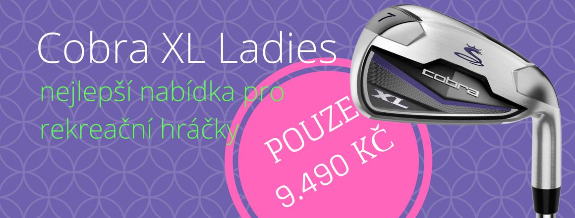 Cobra XL, sada želez pro ženy
